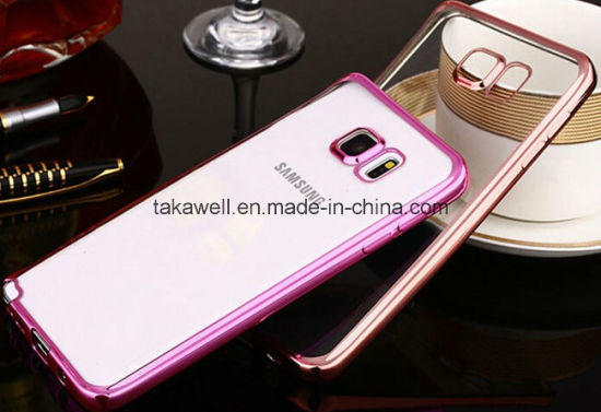 Hot Electroplate TPU Case with Elegance and Noble Design for Samsung S7 Galaxy Cell/Mobile Phone Case Cover pictures & photos