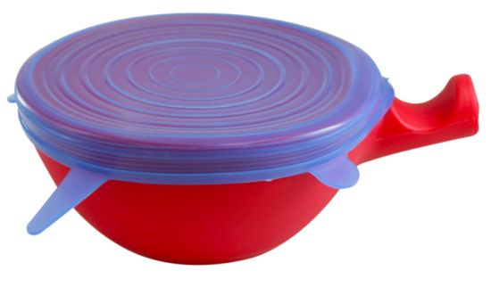 Food Grade Silicone Cover, Silicone Spill Stopper Lid pictures & photos