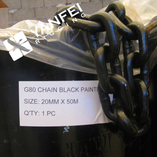 Black Oxide Lifting Load Chain (4mm-36mm) pictures & photos