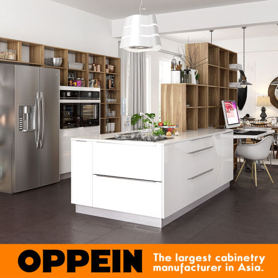 Oppein Guangzhou Furniture Factory Ready Made European New Design Kitchen Cabinets pictures & photos
