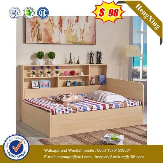China Hot Sale Wooden Children Furniture Kids Single Toddler Bed China School Furniture Bunk Bed