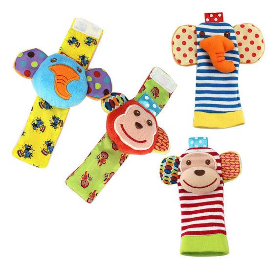 Wrist Rattle Socks Toys Foot Finder Set