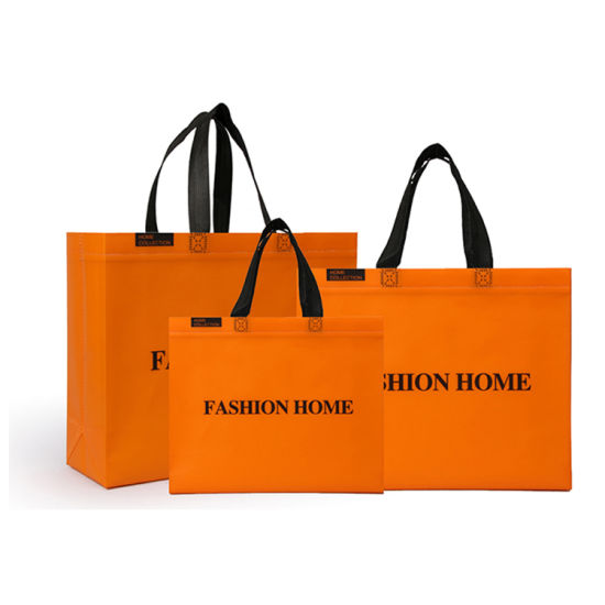 in Stock Fashion Waterproof Carry PP Laminated Durable Shopping Promotional Non Woven Bag