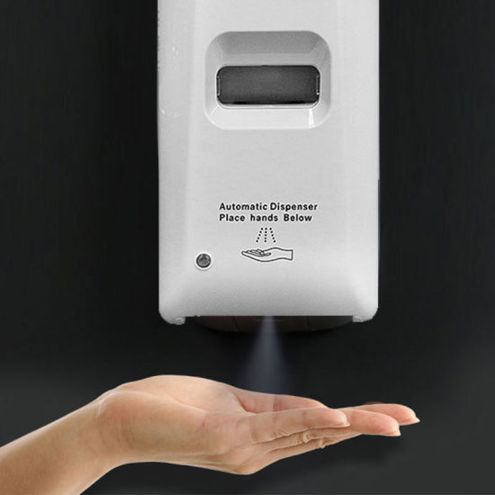 CE Certification Wall-Mounting Non Touch Hand Sanitizer Alcohol Spray Sterilizer Liquid Automatic Soap Dispenser