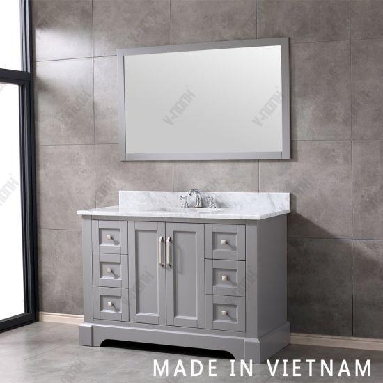Made In Vietnam Luxury Solid Wood, Bathroom Vanity Sets