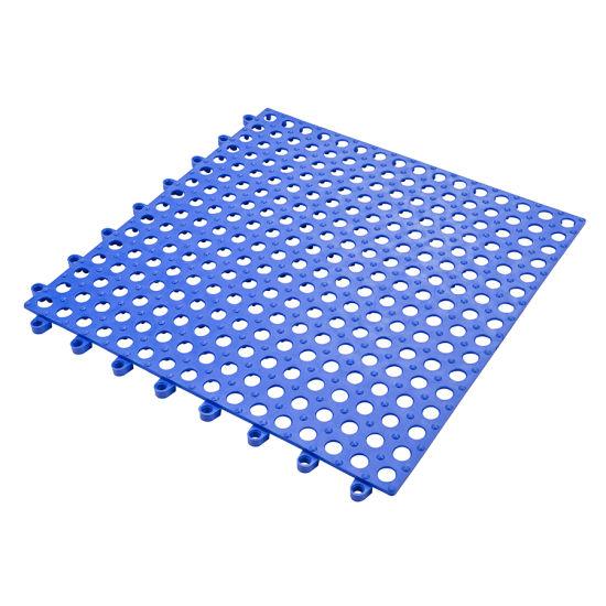 Interlocking Blue Rubber Floor Tiles, Interlocking Floor Tiles Bathroom