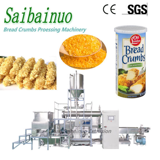 Factory Selling Big Capacity Breadcrumbs Maker Processing Line Extrusion Food Production Plant Industrial Panko Bread Crumbs Making Machine
