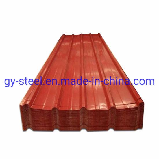 Jisg3302 CGCC/SPCC/Spcd/Spce/SGCC/Sgch PPGI PPGL Metal Sheet, Corrugated Steel Roofing Plate