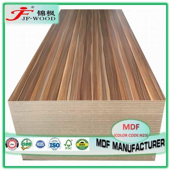 ISO9001 Fsc SGS AAA Grade Decorative Board Building Material Furniture Panel Prelaminated for Nigeria Kenya Somalia China Melamine MDF