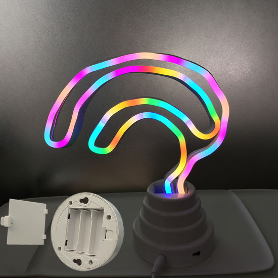 New Design DIY Home Decoration LED Neon Table Lamp