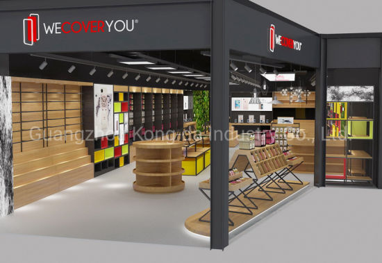Electronic Showroom Design New Style Mobile Phone Display Counter