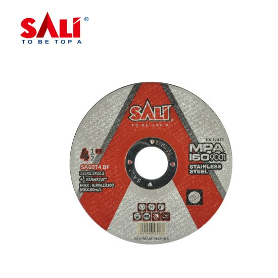 High-Quality Single Aluminum Oxide Grains Stainless Steel Cutting Disc