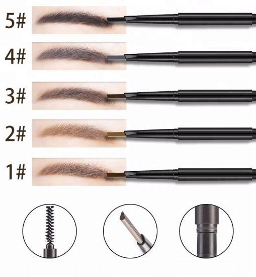 OEM Cosmetics Makeup Private Label Triangle Waterproof Eyebrow Pencil