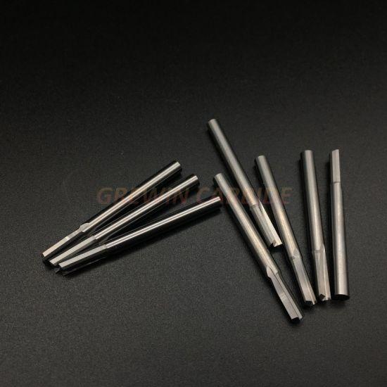 10pcs 4 mm* 45mm Cutting Double Edge Single Flute End Mill Cutter CNC Tool Bits