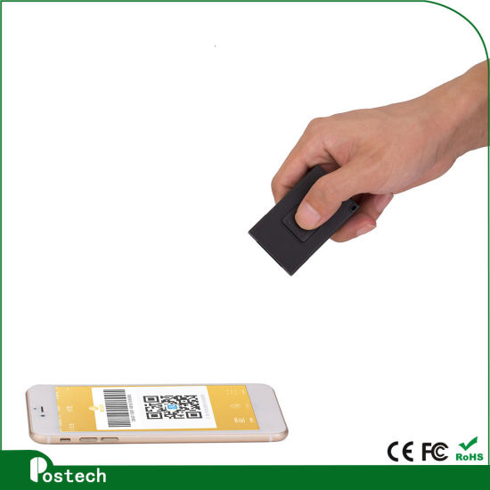 2D Qr Barcode Scanner with Glove, Wireless Bluetooth 2D Mini Scanners for Logistic pictures & photos