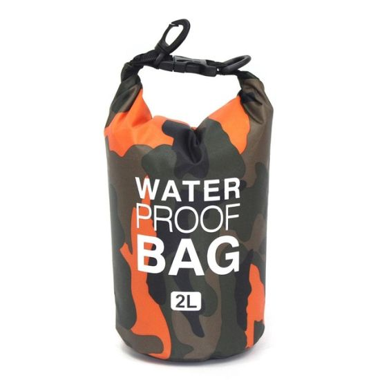 2/5/10/15L Outdoor Camouflage Waterproof Dry Bags (ISRW3001) pictures & photos