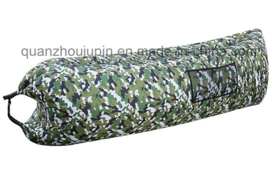 OEM Outdoor Camp Air Camouflage Inflatable Sleeping Bag Sofa