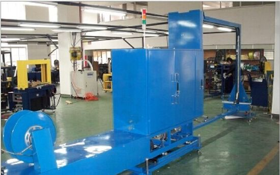Stretch Wrapping Line, Pallet Strapping Machine pictures & photos