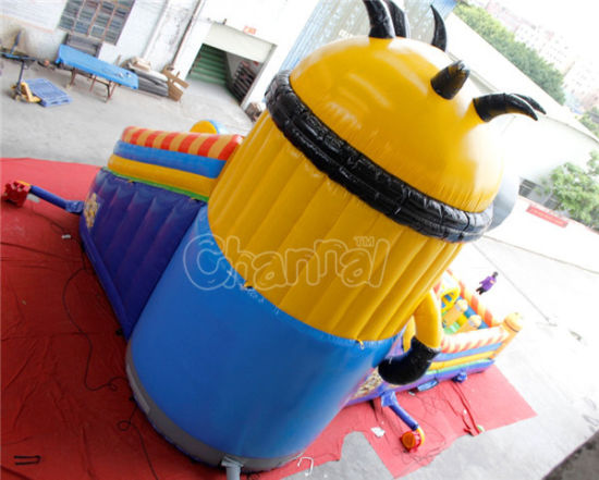 Giant Minions Inflatable Obstacle Course Playground Chob529 pictures & photos