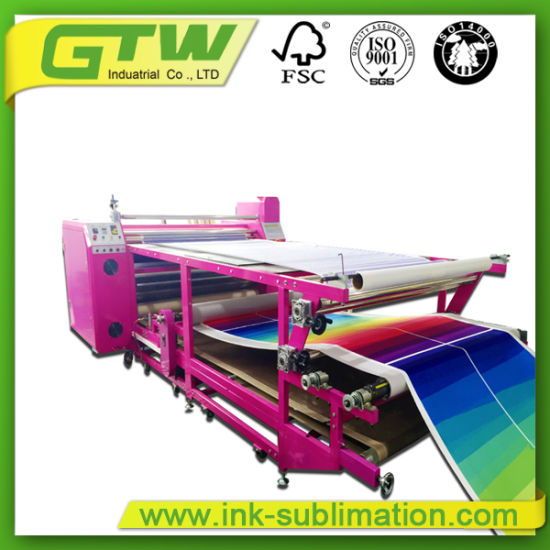 Rotary Heat Press Machine for Sublimation Printing (420*1700mm)