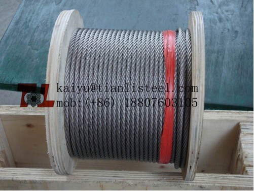 AISI304 Stainless Steel Wire Rope with ISO9001: 2008 pictures & photos