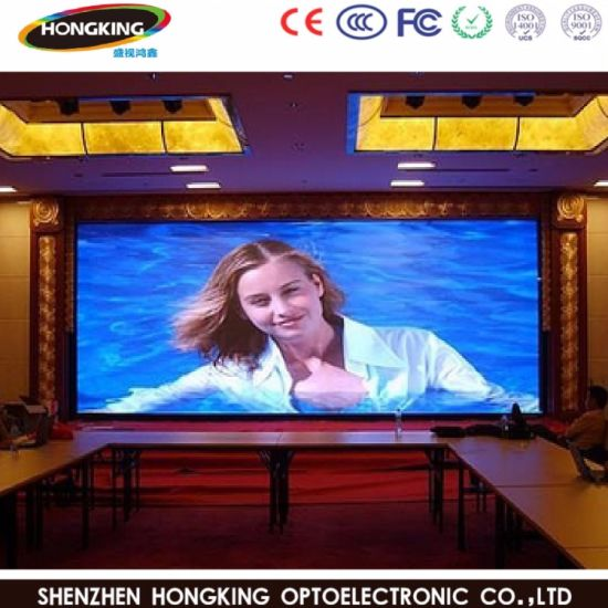 Hot Selling RoHS P7.62 Full Color Indoor LED Large Display Advertising Board