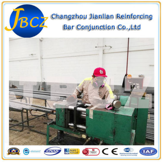 Ce Approved Construction Equipment Upset Forging Parallel Thread Machine pictures & photos