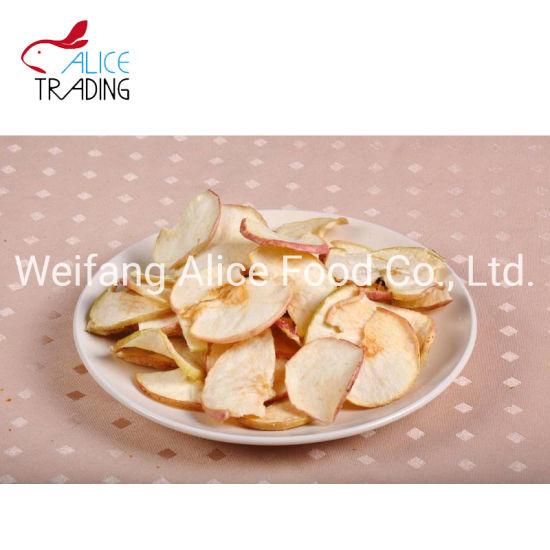 Crispy Fruit Chip Snack Vacuum Fried Apple Chips