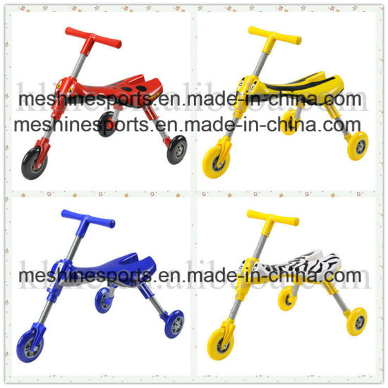 China Smart Folding Safety Baby Tricycle Bike Ride On Toys For Kids