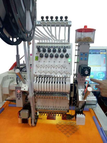 Bead Embroidery Machine Garment Textile Workpiece Making Equipment