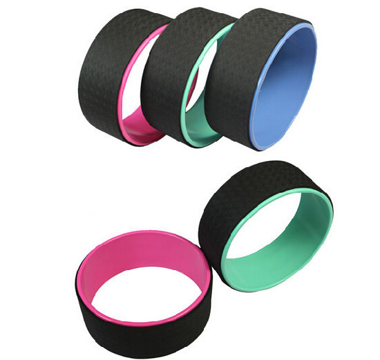 Black TPE/ABS Yoga Wheel with Multi Color for Choice Custom Yoga Wheel pictures & photos