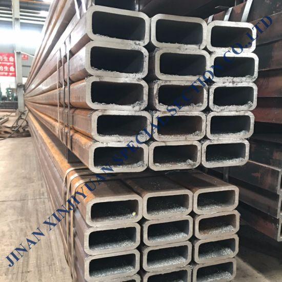 China Square Section Steel Tube Hss Sizes Low Carbon Pipe China Hollow Section Rectangular Pipe
