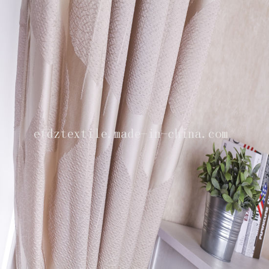 100% Poly Shrinkage Fabric Design Window Curtain Fabric pictures & photos