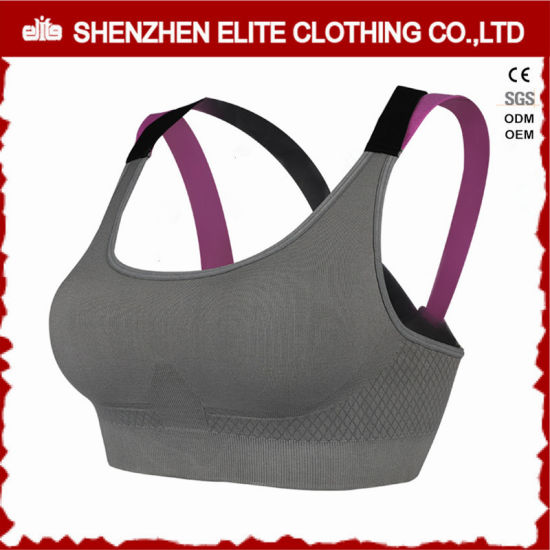f5e509c88 2017 Hot Selling Blank Fashionable Sports Bra Wholesale (ELTSBI-7) pictures    photos