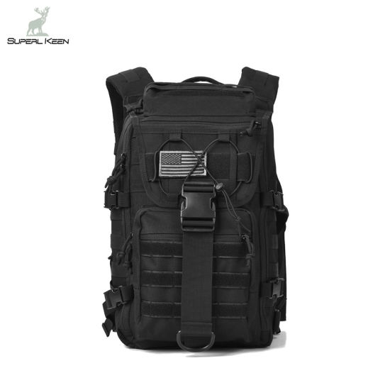 f60a678ee59a Black Army 3 Day Assault Pack Bug out Bags Molle Laptop Backpacks Rucksacks Military  Tactical Backpack