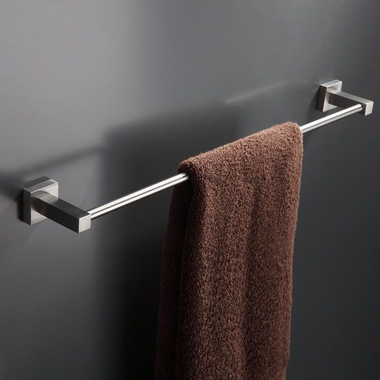 FLG Stainless Steel 23.6-Inch Towel Bar bathroom Towel Holder Brushed