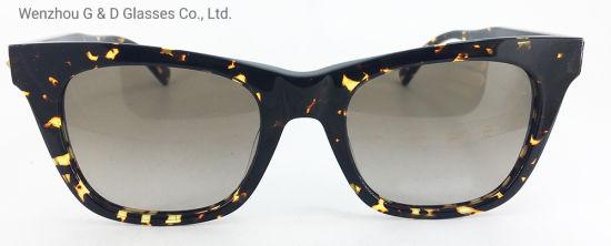 2019 New Design Model China Factory Wholesale Acetate Frame Sunglasses