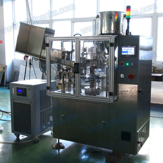 Filling Sealing Machine for Toothpaste (TFS-100A) pictures & photos