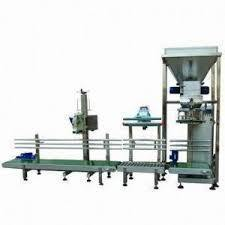 5kg 10kg 50kg Automatic Cement Powder Bag Weighing Filler Pack Sealing Talcum Powder Filling Packing Plant Cement Packaging Machine