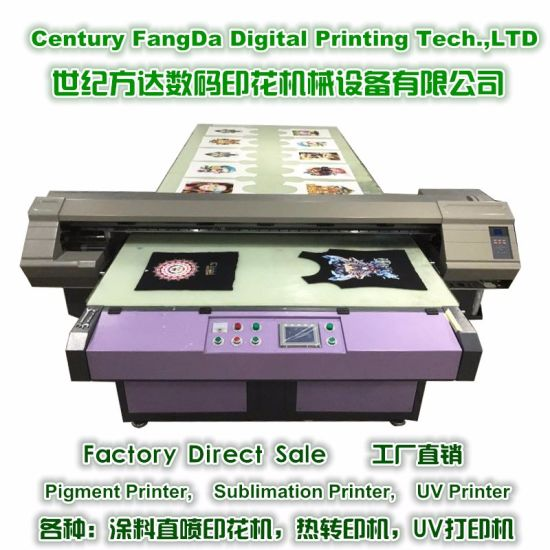 ea3ff64b Digital T-Shirt Printing Machine with Pigment Ink pictures & photos