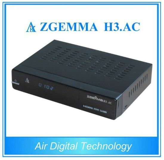 ATSC+DVB-S2 Twin Tuners Zgemma H3. AC Linux OS E2 Satellite Receiver& Media Player pictures & photos