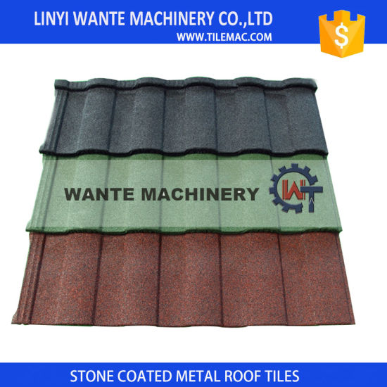 Double Colors Roman Roof Tiles With 2 7kg Weight For Construction