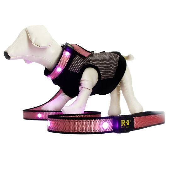 Waterproof GPS Tracker Smart Pet Collar Dog Tracker LED Collar