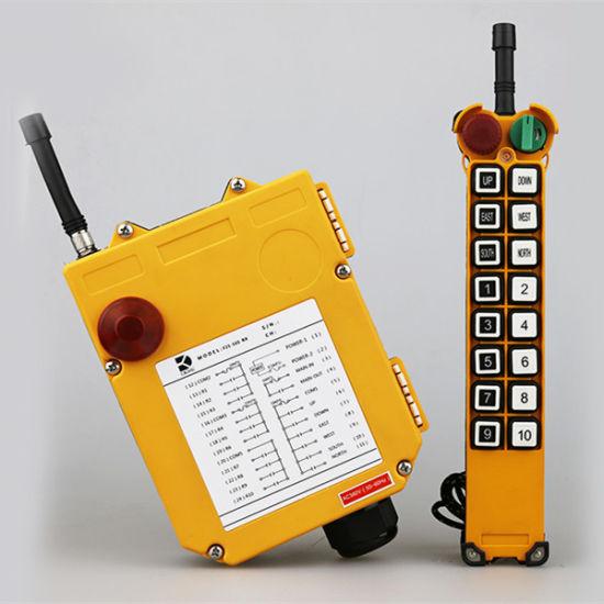 Industrial Radio Remote Button Control Crane F21-16s