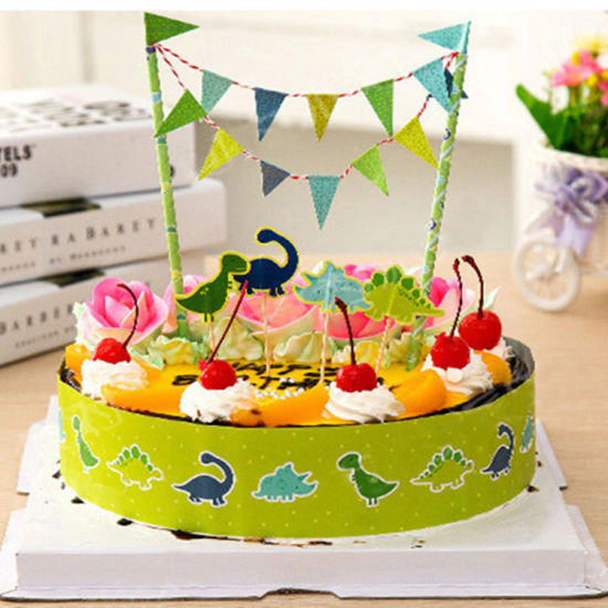 China Dinosaur Kids Birthday Cake Topper Decoration China Cake
