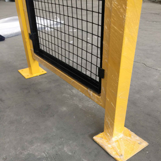 China powder coated machine wire guard safety fencing