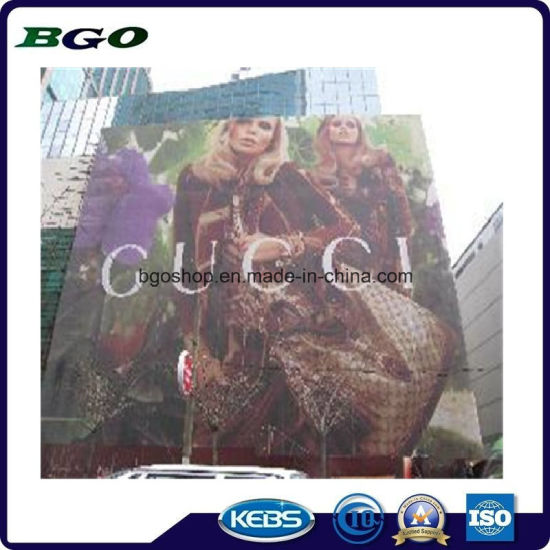 PVC Billboard Mesh Fabric Display Banner (1000X1000 9X9 370g) pictures & photos