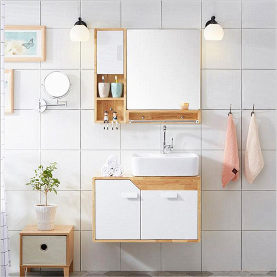 Wholesale Solid Wood Bathroom Cabinet Factory Direct Sale