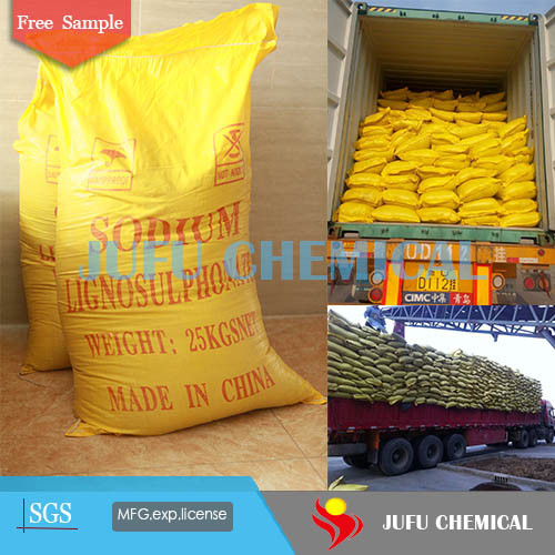 Construction Chemical Sodium Lignosulfonate Powder pictures & photos
