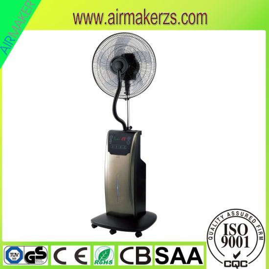 China 16inch Electric Stand Portable Indoor Water Misting Fan SAA/Ce ...